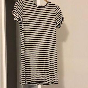 Alive and Olivia striped shift dress size xs